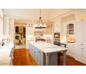 Traditional storage-rich kitchen